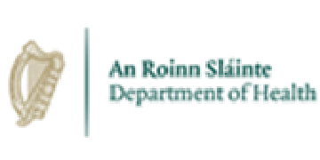 An Roinn Slainte - Department of Health logo