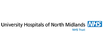 The University Hospitals of North Midlands NHS Trust  logo