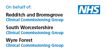 Worcestershire Clinical Commissioning Groups logo
