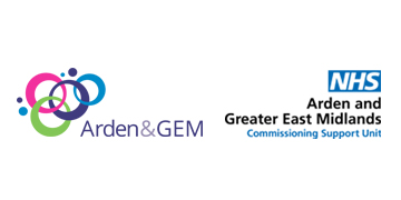 NHS Arden & GEM Commissioning Support Unit logo